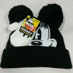 Baby Mickey Disney beanie & mittens